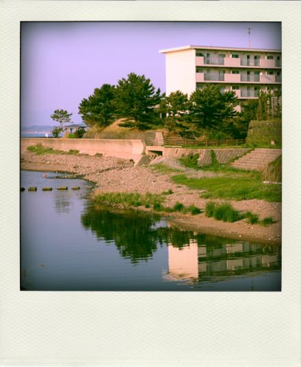 海辺の団地