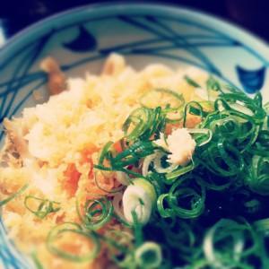 丸亀製麺の釜玉うどん