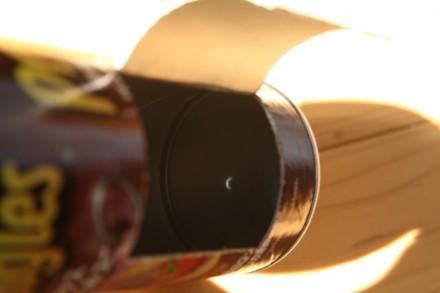 日食観察の様子2