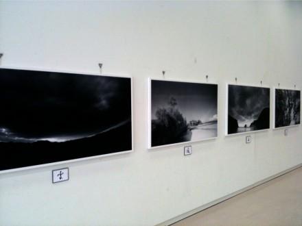 ピンホール写真の展示