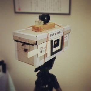 ピンホールカメラ「HARA-HETAX」