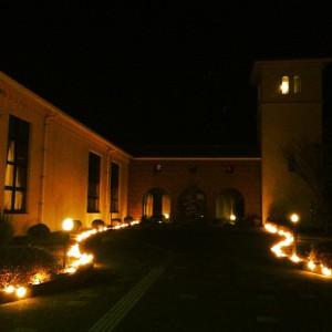 石正美術館ライトアップ