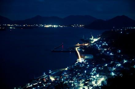 市街の夜景