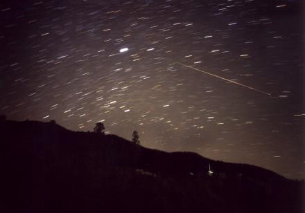 2001年のしし座流星群1
