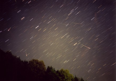 2001年のしし座流星群2