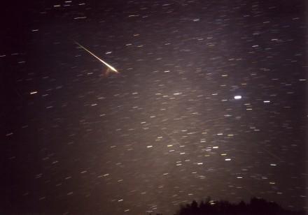 2001年のしし座流星群3