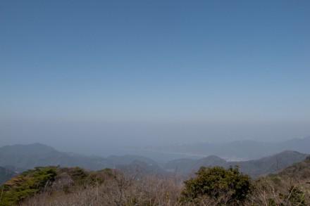 山頂から北側の景色