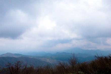 うっすら大山