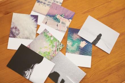 写真ポストカード「ふゆのかけら×ちいさいひかり」4枚セレクト
